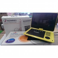 PORTABLE TV / DVD PLAYER RINREI 9