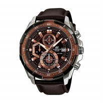 Jam Tangan Pria Casio Edifice EFR-539L-5AV Fashion Men Watch - Brown