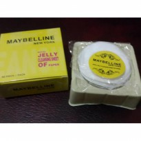 TISU MAYBELLINE - Beauty Royal Jelly Cleansing Sheet Of Paper