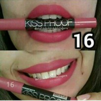 Kiss Proof Me Now Lipstick Matte no 16 - Kiss Proof no. 16