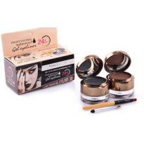 Profesional Waterproof Gel Eyeliner & Eyebrow Kiss beauty