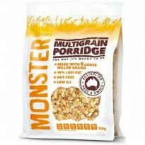 Monster Multigrain porridge Health food 700gr Low G.I Makanan sehat High in Fibre No Cholesterol