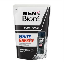 MENS BIORE Body Foam White Energy 450ml