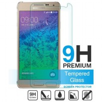 Anti Gores Kaca Tempered Glass Samsung Alpha CLEAR BENING HIGH QUALITY