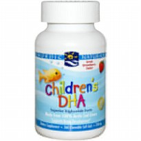 Nordic Children's DHA Strawberry ( 90 Softgel)