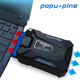 Cooler Cooling Pad Notebook Pendingin Untuk Laptop Exhaust/ Popupine Mini Usb Vacuum Air -BC489