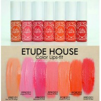 ETUDE HOUSE COLOR LIPS FIT /Lipgloss Waterproof