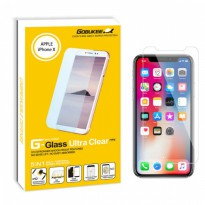 Gobukee Dual Force iphone X Tempered Glass Sreen Protector