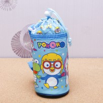 Pororo bucket bag with all / / Pororo Pororo Pororo bucket bucket bucket water bottle pocket, water bottle pocket