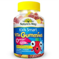 (POP UP AIA) Nature's Way KS Gummies Omega 60 Pastilles Exp Juli 2020