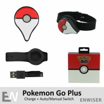 Pokemon Go Plus Dual Version Charging Charge Gelang Game Handphone