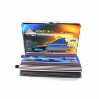 KBM Power Inverter N12-2000C ( Support Charge Accu/Aki )