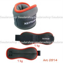 Kettler Foot Band Orange (2kg/pair) / Pemberat Kaki Kettler 2kg orange