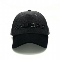 Kalibre 991199-999 Topi Bling Blink Sporty Baseball Hat Cap Grey Black Abu Hitam
