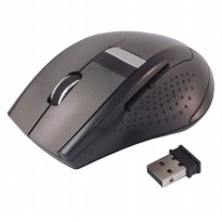AUE Mouse Wireless Optical 2.4G - M013 - Black