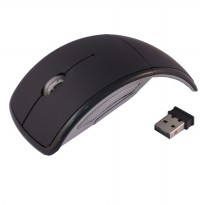 AUE Mouse Wireless Optical 2.4G - M016 - Black