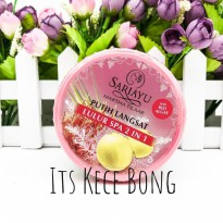 [DISKON] SARIAYU Putih Langsat Red Algae Lulur Spa 2 in 1 175gr