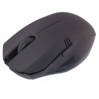 AUE Mouse Wireless Optical 2.4G - M103 - Black