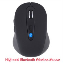 Mouse Bluetooth 3.0 2.4GHz 1600DPI - Black