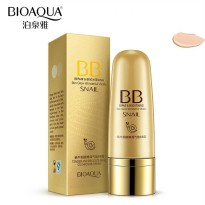 BIOAQUA SNAIL REPAIR & BRIGHTENING BB CREAM CUSHION TUBE TIP SPONGE