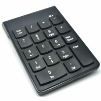 Keypad Numeric Wireless 2.4GHz 10 Meter - Black