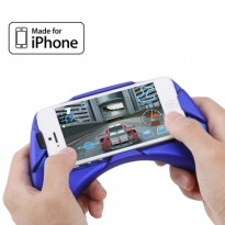 Ipega Gaming Console Hand Grip for iPhone 5/5s/SE - PG-I5003 - Blue