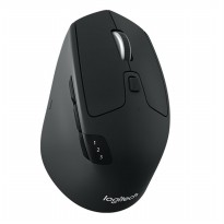Logitech M720 Triathlon Multi Device Wireless Mouse - Black