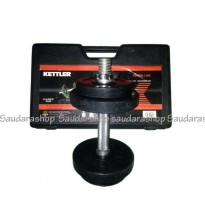 Rubberized Dumbell Set 10Kg KETTLER / Dumbel set rubber 10kg