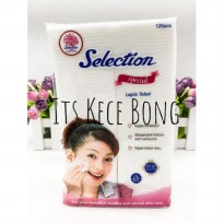 [DISKON] Selection Special Kapas Lapis Tebal Facial Cotton per pack