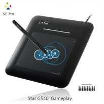 XP-Pen Smart Graphics Drawing Pen Tablet with Passive Pen - G540 - Black