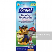 Orajel Training Toothpaste Fruity Fun 42.5gr - Paw Patrol