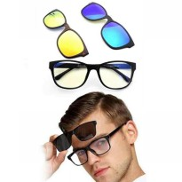 Magic Vision Glasses 3in1 Magnet Clip On