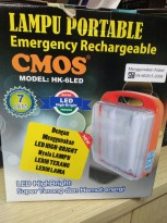 CMOS LAMPU EMERGENCY HK-6LED