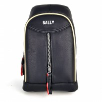 Promo! Tas Selempang Sling Bag / Shoulder Bag - Bally Str Black