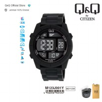 Q&Q QnQ QQ Original Jam Tangan Pria Digital Sport Watch - M123 M123J Water Resist