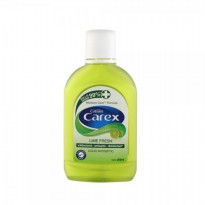 Carex Liquid Antiseptic Lime Fresh 250ml