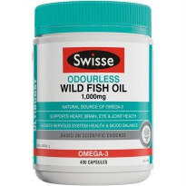 (POP UP AIA) Swisse Ultiboost O/L Wild Fish Oil 1000mg 400 Caps (exp Agustus 2021)