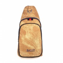 Promo! Tas Selempang Sling Bag / Shoulder Bag - Bally Mjam Brown