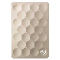 SEAGATE Backup Plus Ultra Slim 1TB [STEH1000301] - Gold