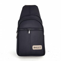 Promo! Tas Selempang Sling Bag / Shoulder Bag - Bally Aaso Black