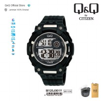 Q&Q QnQ QQ Original Jam Tangan Pria Digital Sport Watch- M125 M125J Water Resist