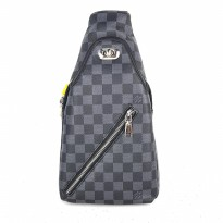 Promo! Tas Selempang Sling Bag / Shoulder Bag - Louis Vuitton Jasa Black