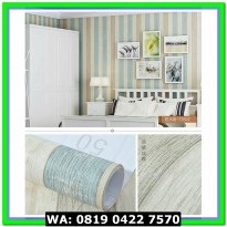(Dijamin) Wallpaper Sticker Dinding UK 10 METER - 73602