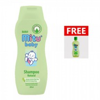 Mitu Baby Shampo Botol Natural Green 200ml