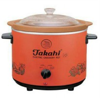 TAKAHI ELECTRIC CROCK CROCKERY POT SLOW COOKER 3,8 3.8 L 1505 HR