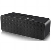 BestFire Portable Wireless Bluetooth Speaker with TF Card Slot and Mic - LV900 - Black