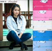 Jaket Wanita Sleep Cat