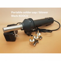 Merk KOOCU Portable solder uap / blower / Single Hot Air Gun