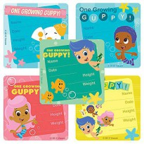 [holiczone] SmileMakers Bubble Guppies Ive Grown Stickers - Doctor Office Giveaways - 75 p/1825257