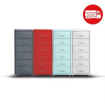 THE OLIVE HOUSE - LEMARI IRON 6 DRAWERS